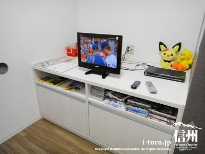 テレビ、DVD、おもちゃ