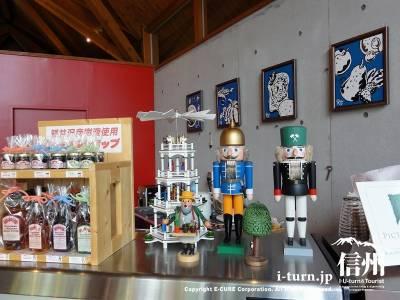 エルツおもちゃ博物館のカフェRUHA店内展示品