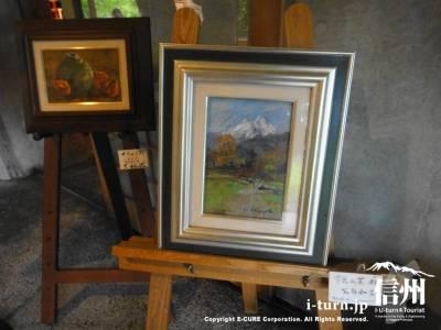 絵画の展示販売