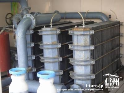 浄化槽の古い設備