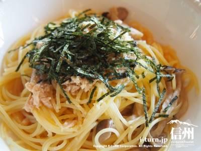 ツナとキノコのスパゲッティ