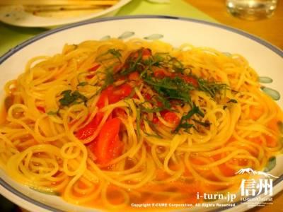 フレッシュトマト(あっさり塩味のパスタ)