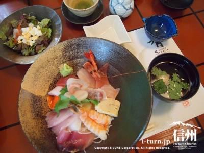 海鮮丼1480円