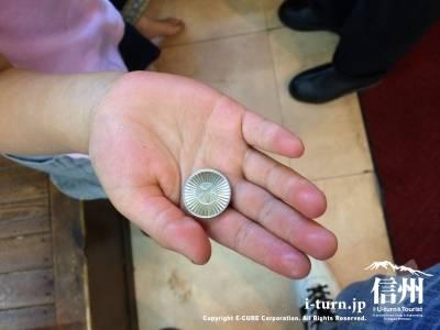 ガチャガチャのコイン