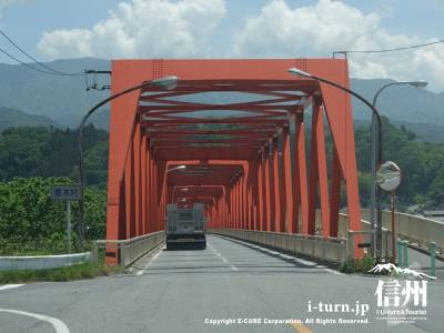 国道153号線「座光寺」を喬木村方面へ進みます