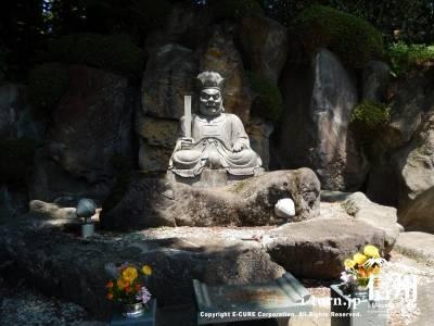閻魔大王の像