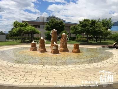 アルプス広場噴水