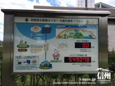 伊那浄水管理センター太陽光発電システム