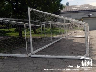 サッカー練習場としてもかなり利用されています