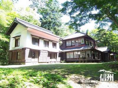 雨宮記念館|旧雨宮邸は雨宮御殿とも呼ばる重要な文化遺産|軽井沢町長倉