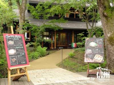 ハルニレテラス 食事処・カフェ・買物|ショッピングから食事まで|軽井沢町星野