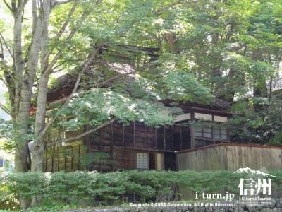 軽井沢高原文庫|野上弥生子の書斎兼茶室|軽井沢町塩沢