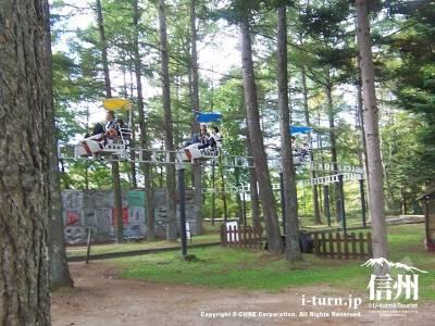 軽井沢タリヤセンにある多彩なアミューズメント|軽井沢町塩沢湖