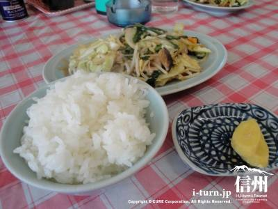 信華園|昼飯に最高、40年間の歴史ある中華料理屋|松本市中央