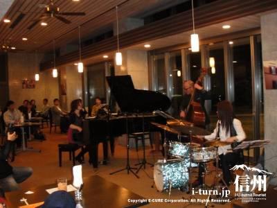 al Cieloアルシエロ|ディナージャズコンサートを聞きながらイタリアン|松本市島立