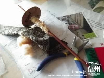 百々屋|女鳥羽川沿いにある縫物・手作り帽子・糸紡ぎのお店|松本市大手