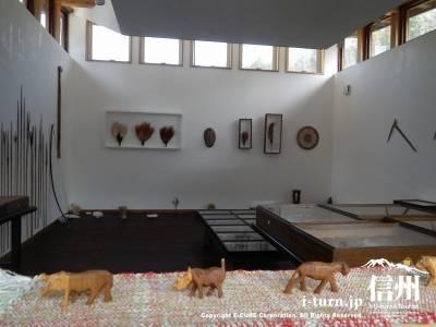 西丸震哉記念館【2】|ギャラリー展示品とカフェ|大町市平
