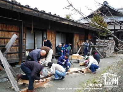 たてもの野外博物館 松本市歴史の里(1)|松本の歴史と文化を伝える・市民がつくった博物館|松本市島立