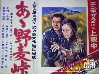 たてもの野外博物館 松本市歴史の里(4)|映画「あゝ野麦峠」のダイジェスト版もみれる展示・休憩棟|松本市島立