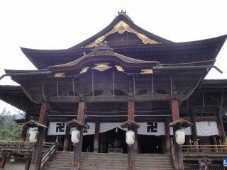 善光寺 (三門~本堂) |長野市