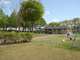 大久保工場公園団地内にある公園「大久保原公園」