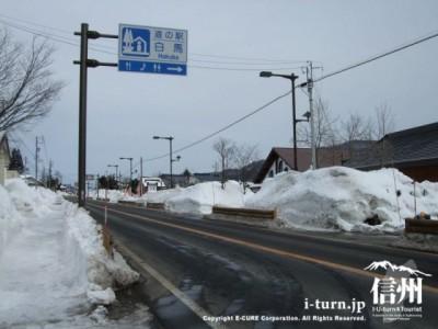 道の駅白馬|白馬の豚(SPF豚)を使った料理、スキー場情報、飯田十三仏堂|白馬村神城