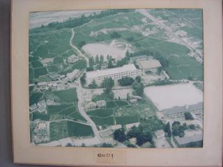 白馬高校空撮昭和55年