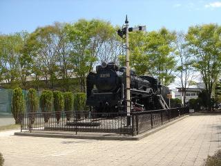 機関車のD51があります