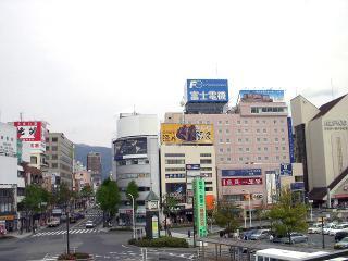 東口の風景