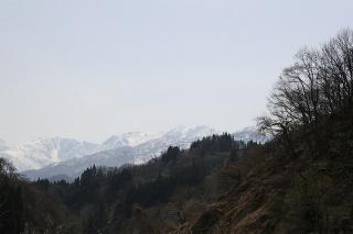 山の風景もいい感じ