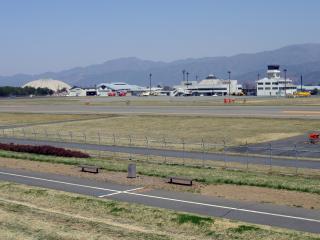 スカイパークにある信州松本空港