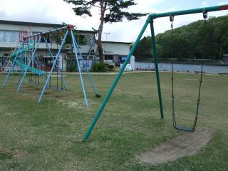 木崎湖公園ブランコ