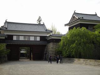 上田城 東虎口櫓門