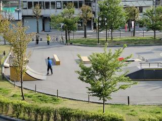 スケートボードコート