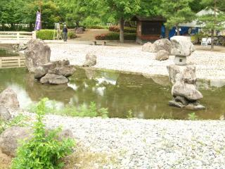 龍門渕公園 庭園の池