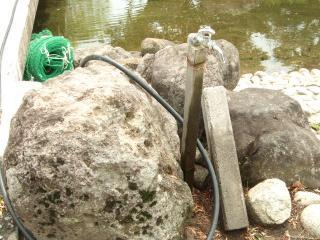 龍門渕公園 池の水の秘密