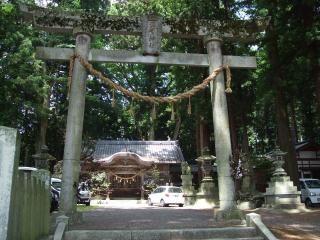 波多神社の鳥居