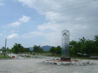 南部公園の時計