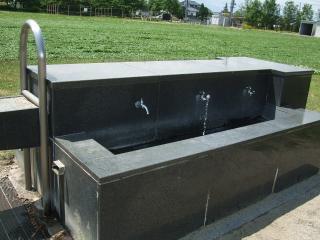 南部公園の水道