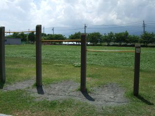 南部公園の鉄棒