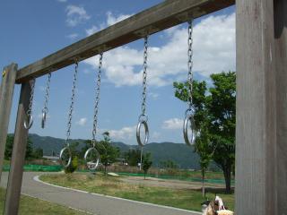 南部公園のつり輪