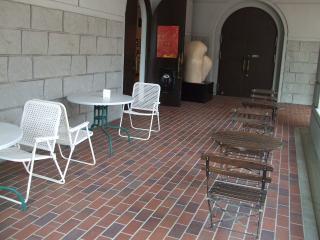 豊科近代美術館 喫茶コーナー