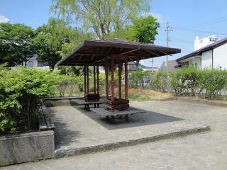 緑ヶ丘公園 テーブルとベンチ