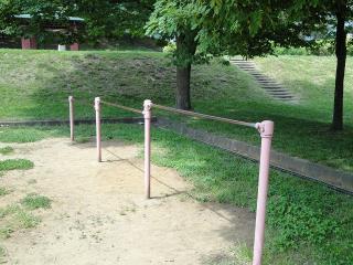 緑ヶ丘公園 鉄棒