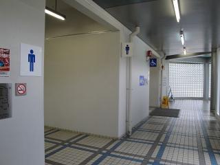 姨捨サービスエリアトイレ