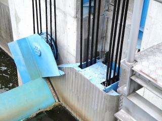 放水口の機構