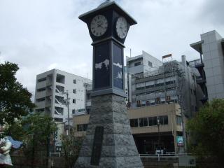 縄手通りの時計
