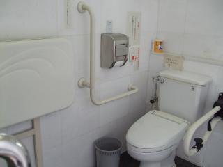 縄手通り トイレ内