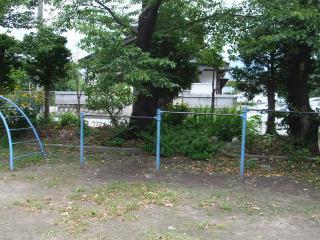 タコ公園 鉄棒