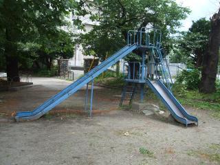 タコ公園 親子すべり台